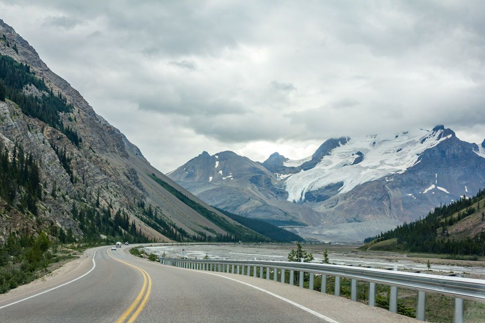 ITINERARIO CANADÁ. DÍA 6: ICEFIELDS PARKWAY